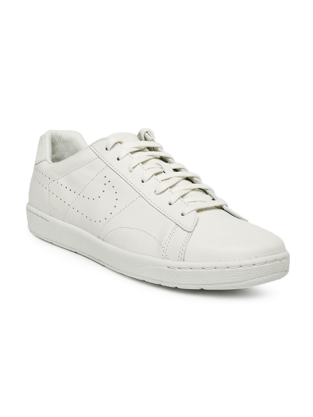 the best attitude ecb00 93deb Nike Men White Tennis Classic Ultra Leather Sneakers