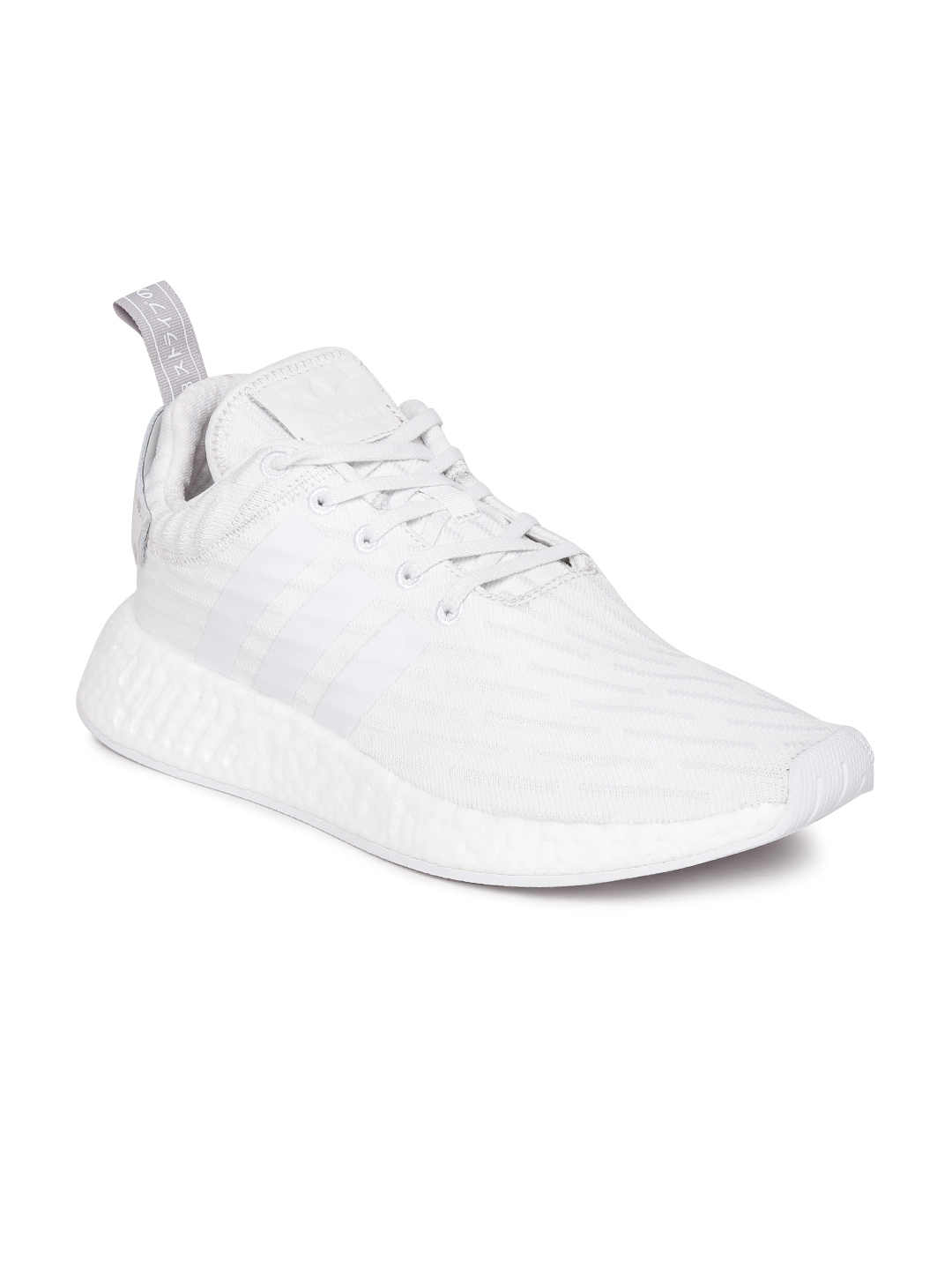 dccf2919b Buy ADIDAS Originals Women Off White NMD R2 W Woven Sneakers ...