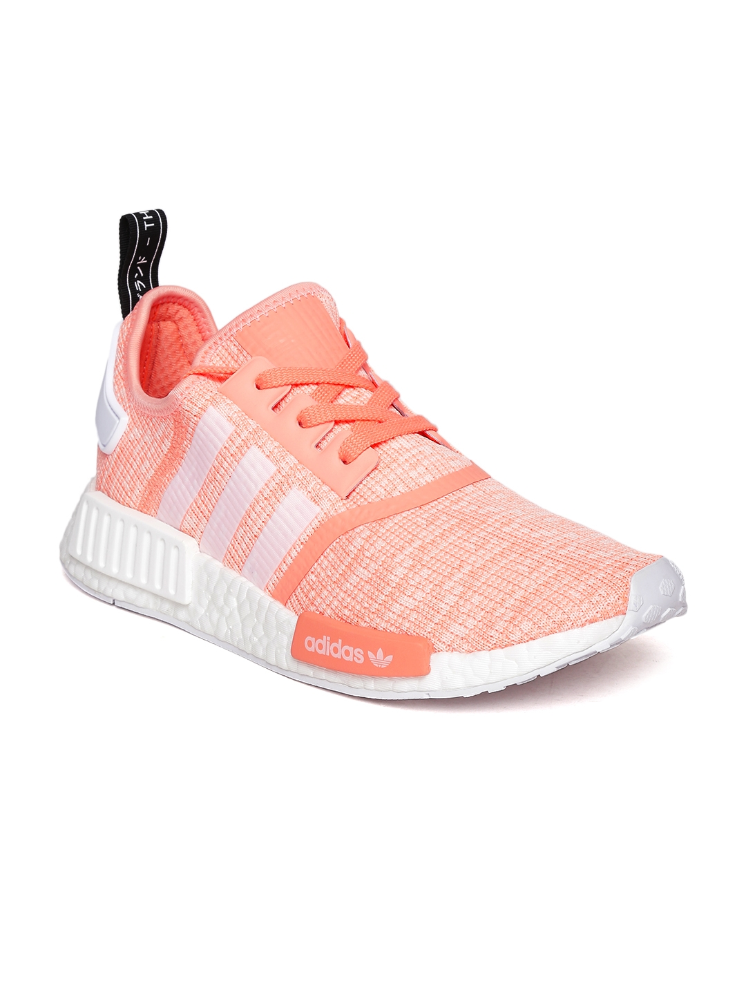 422d790ad Buy ADIDAS Originals Women Peach Coloured NMD R1 W Woven Sneakers ...