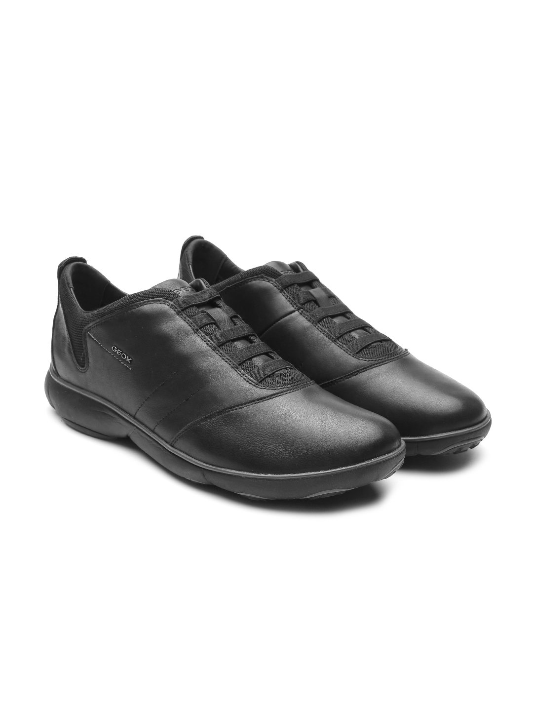 0aa68e50876 Buy Geox Respira Men Black Italian Leather Slip On Sneakers - Casual ...