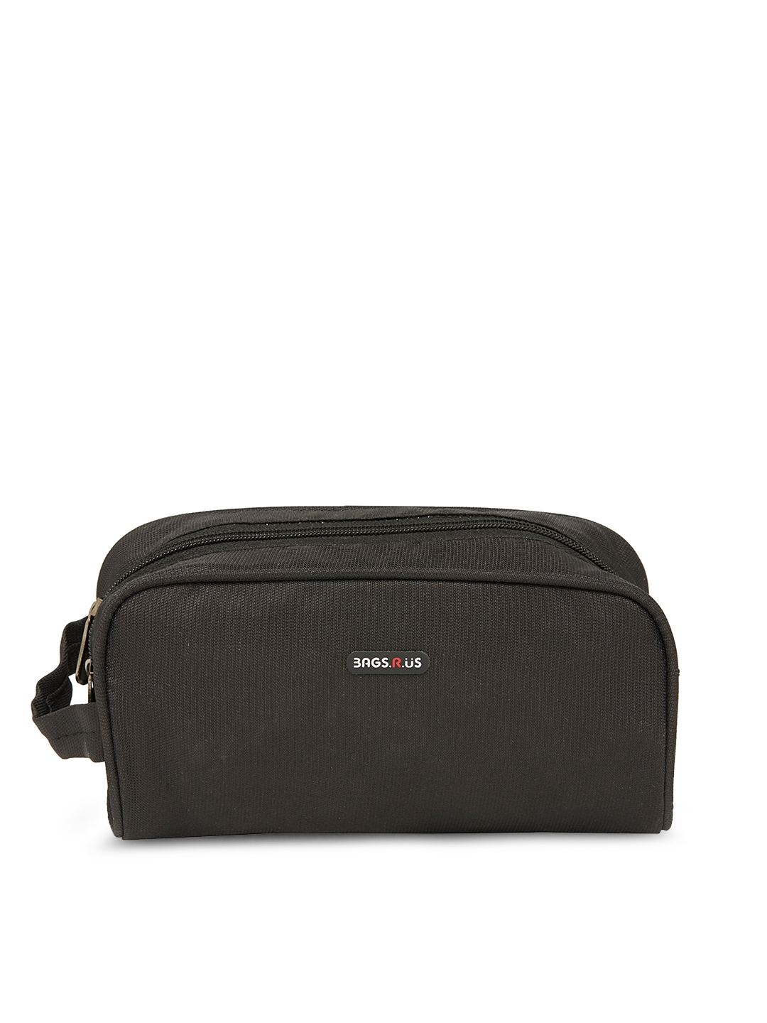 Bags.R.us Unisex Black Travel Toiletry Kit
