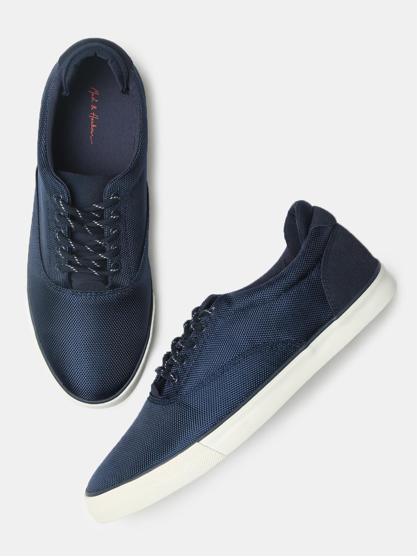 Buy Mast \u0026 Harbour Men Navy Blue
