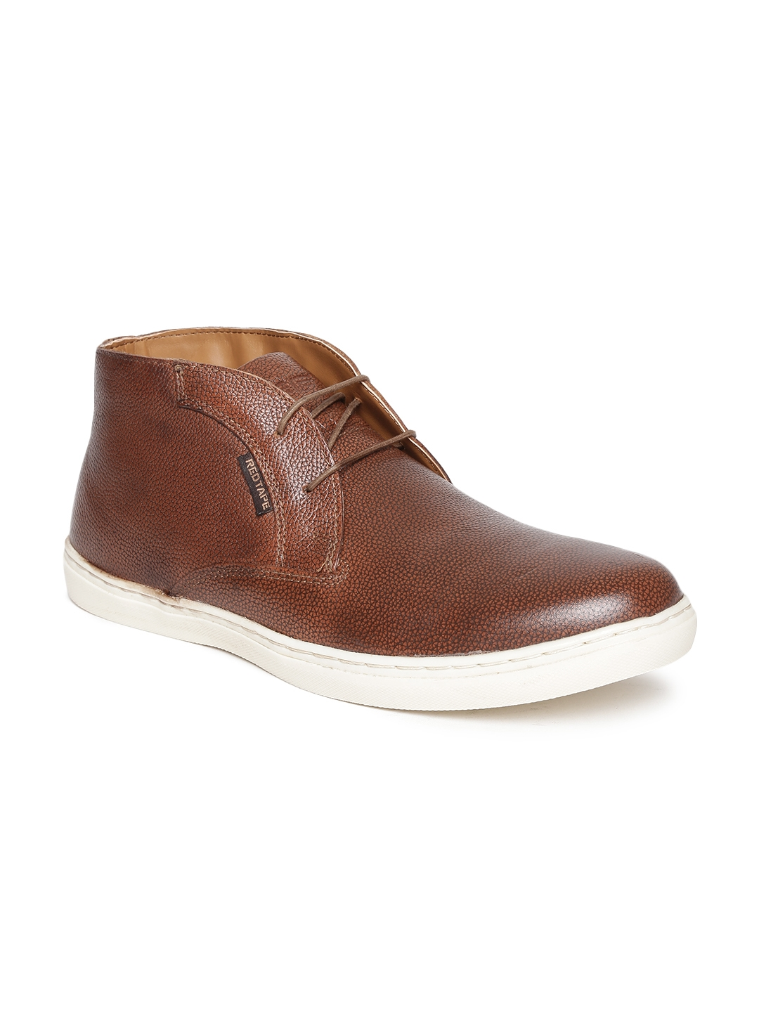 7f2acb5e12b Buy Red Tape Men Brown Genuine Leather Casual Shoes - Casual Shoes ...