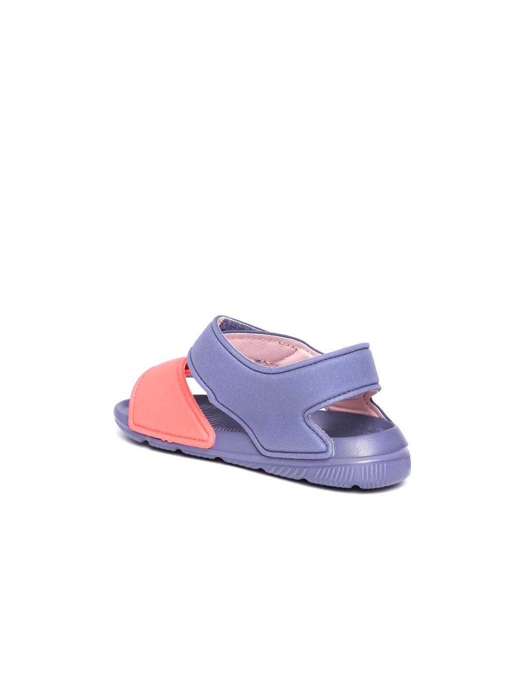 728aa791905fb3 Buy ADIDAS Kids Coral Orange   Blue Altaswim C Colourblocked Sports ...