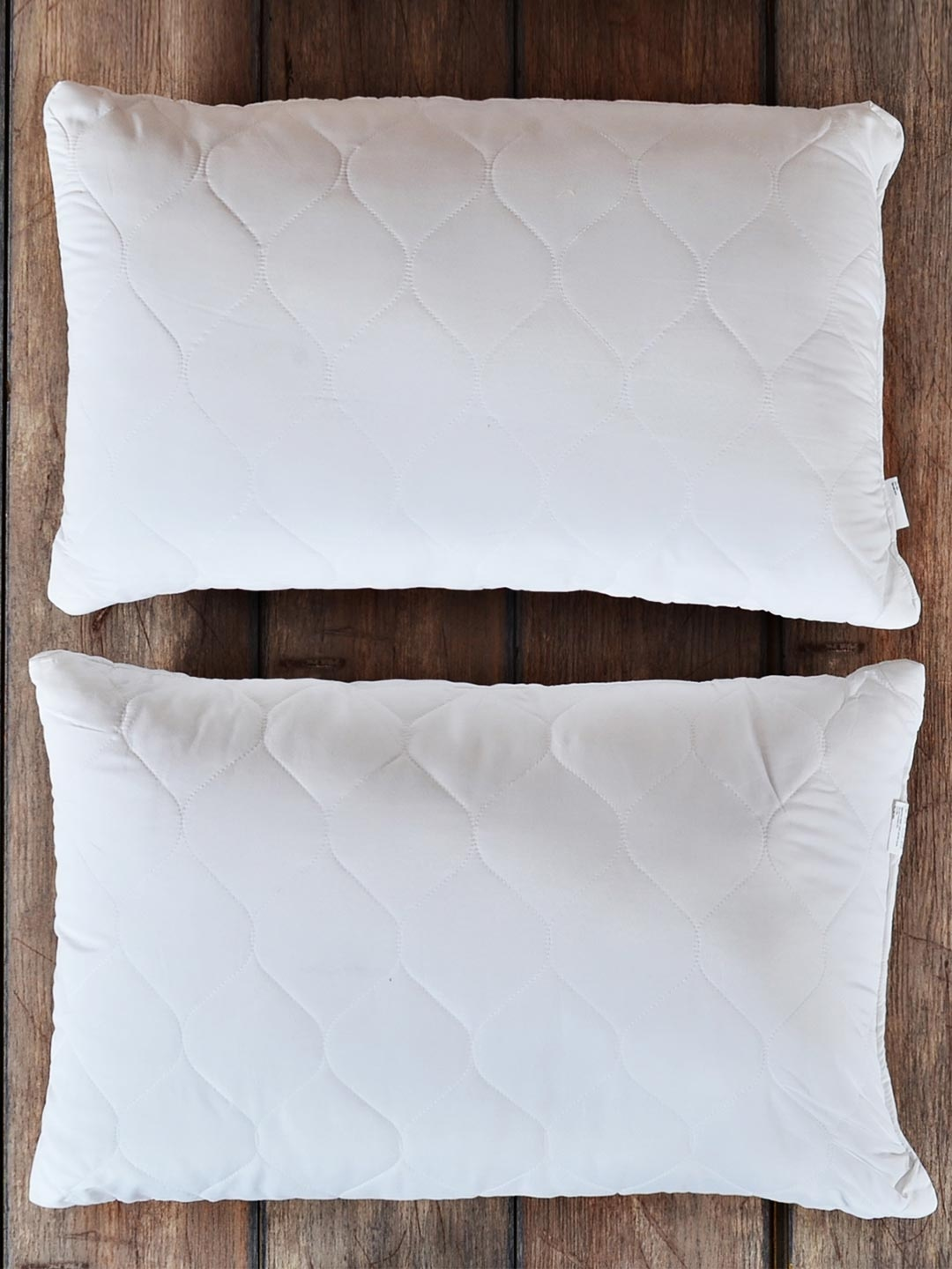 Portico New York Delight Set of 2 White Fibre Sleep Pillows. Home Furnishings   Buy Home Furnishing Products Online   Myntra