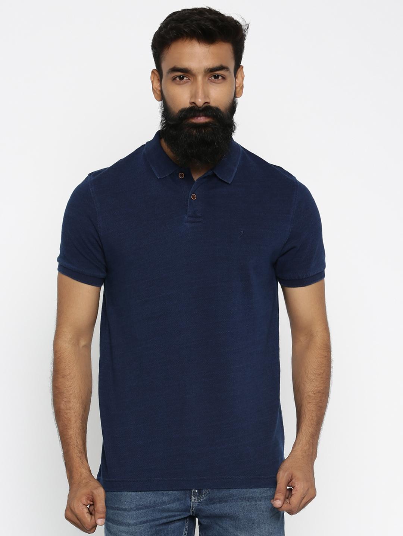 Design your t shirt india - Design Your T Shirt India Design T Shirt Online India Indian Terrain Men Navy Self