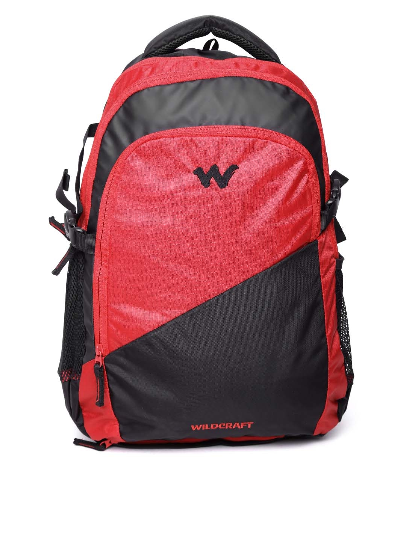 240f69f633 Buy Wildcraft Unisex Black   Red Traverse 2.1 Colourblocked Backpack -  Backpacks for Unisex 1869407