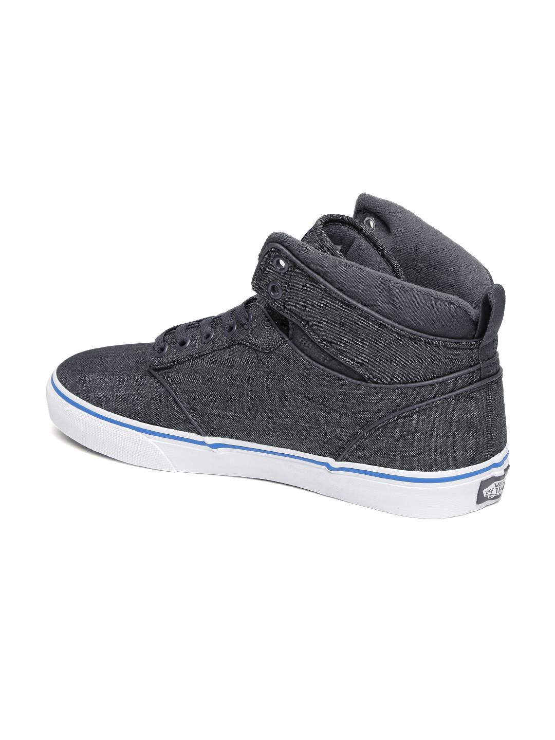 642d3ab4954346 Buy Vans Men Grey ATWOOD HI Mid Top Sneakers - Casual Shoes for Men ...