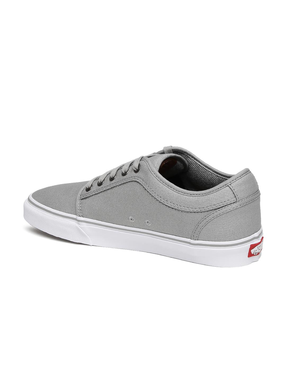 10a7e75bbcfeef Buy Vans Men Grey CHUKKA LOW Sneakers - Casual Shoes for Men 1869923 ...