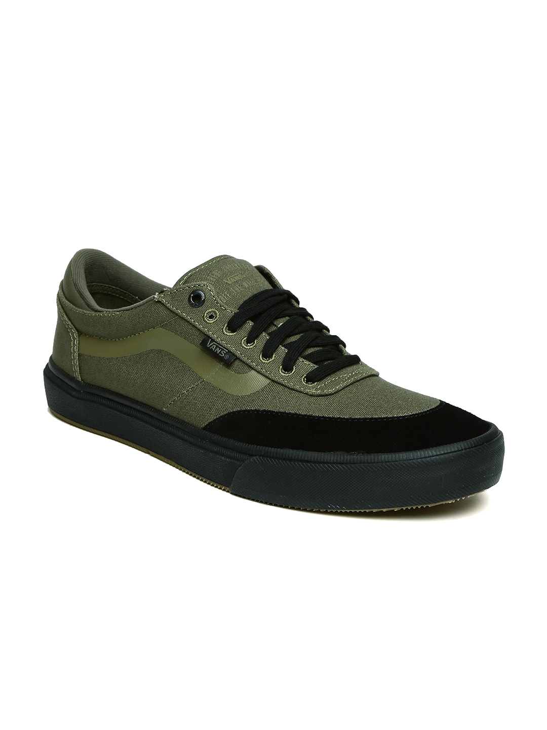 dc9a85b331c597 Buy Vans Men Olive Green Gilbert Crockett 2 Pro Skate Shoes - Casual ...