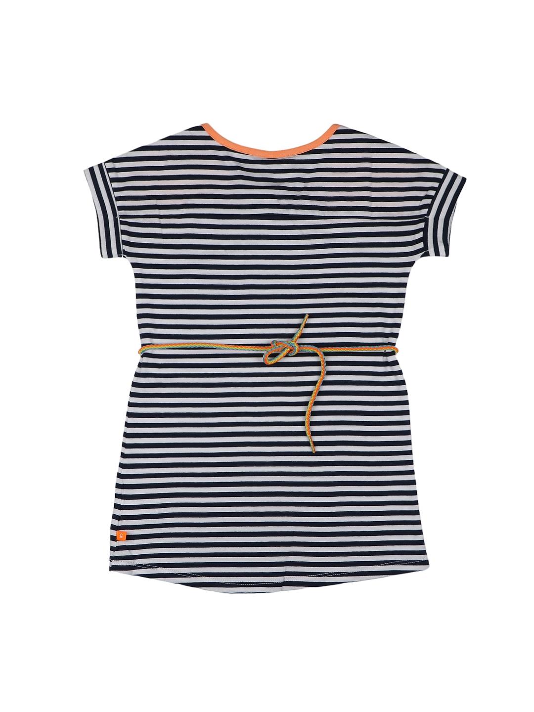 28ed3e3b19ca Buy United Colors Of Benetton Girls Black   White Striped A Line ...