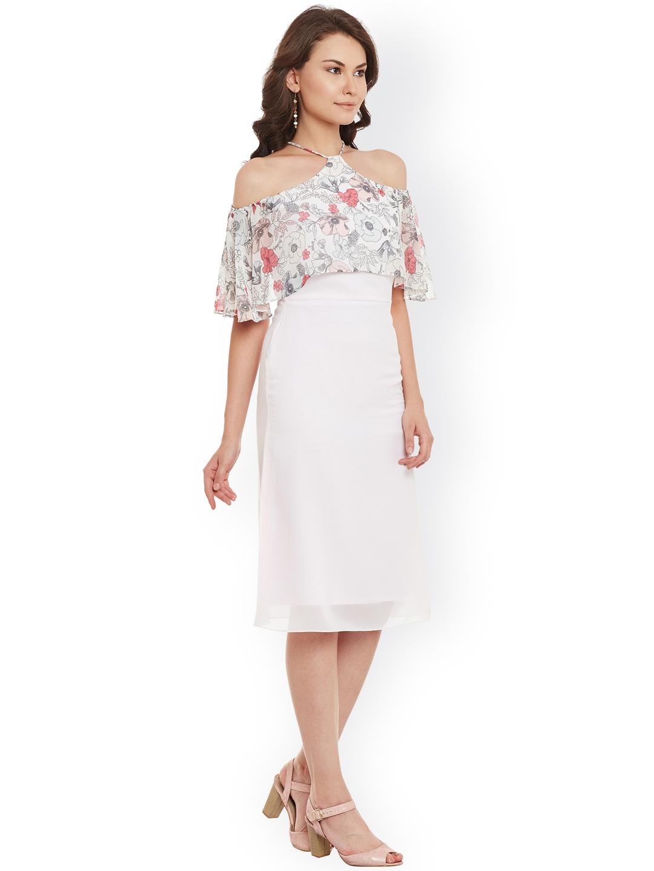 fe8839776479 Buy Athena Women Pink A Line Dress - Dresses for Women 1874689