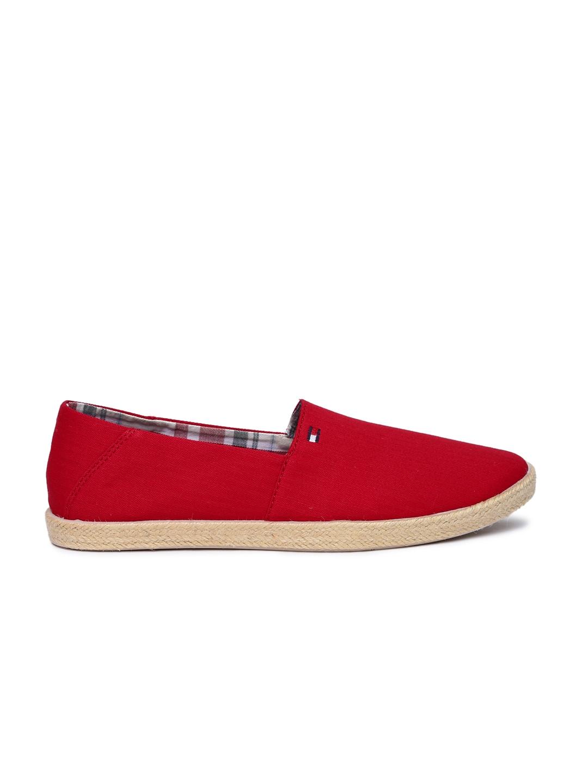 0e0efd6fabf4dd Buy Tommy Hilfiger Men Red Espadrilles - Casual Shoes for Men ...