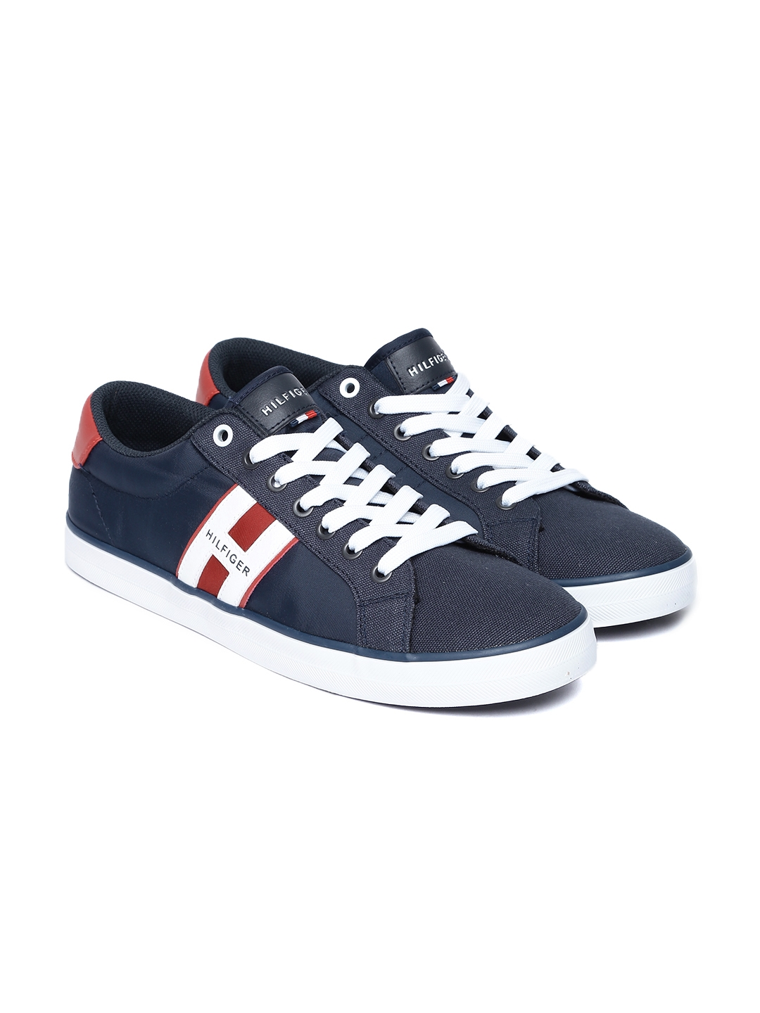 7961dc49439335 Buy Tommy Hilfiger Men Navy Blue Sneakers - Casual Shoes for Men ...