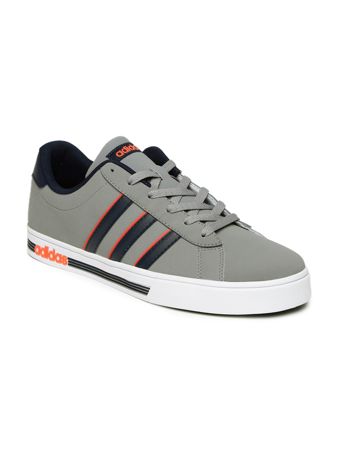 d2dca6401f02 Buy ADIDAS NEO Men Grey DAILY TEAM Sneakers - Casual Shoes for Men ...