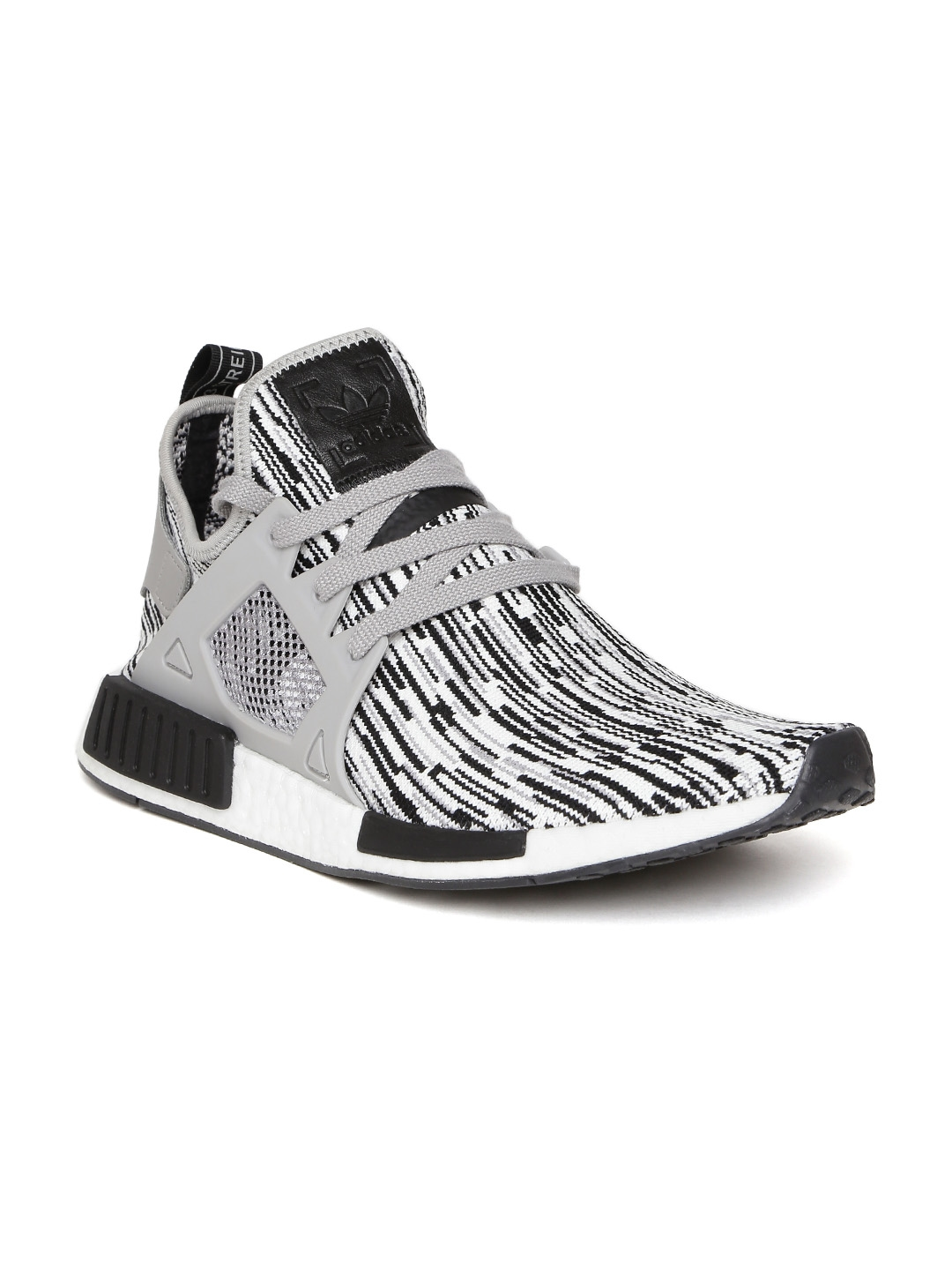 b92a6618bc197 Buy ADIDAS Originals Men White   Black NMD XR1 PK Sneakers - Casual ...