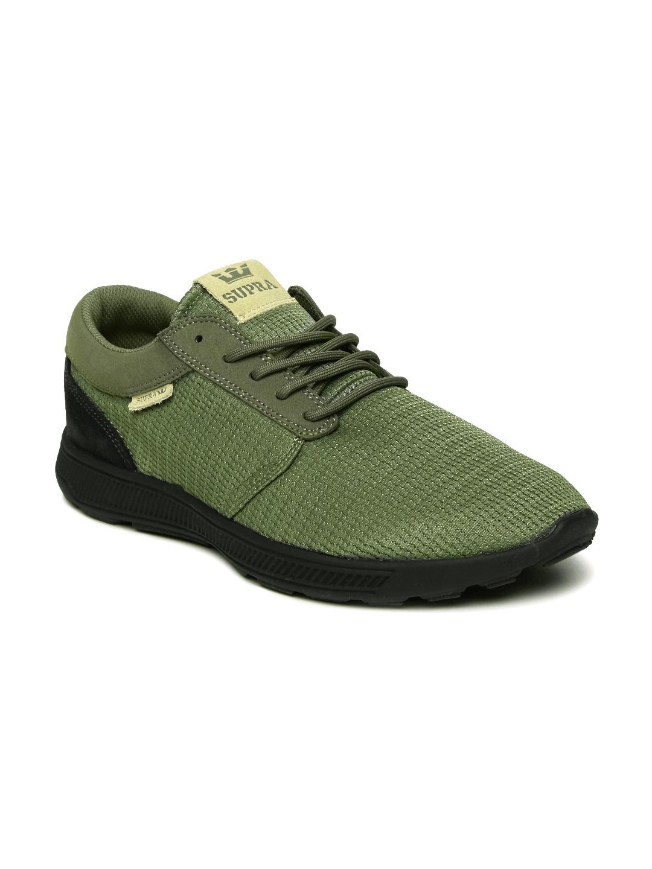 3dad1f600fa5 Buy Supra Men Olive Green Hammer Run Sneakers - Casual Shoes for Men ...