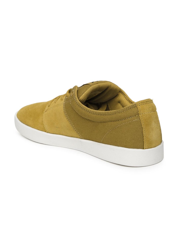 f1854fa4d629 Buy Supra Men Mustard Yellow Stacks II Suede Sneakers - Casual Shoes ...