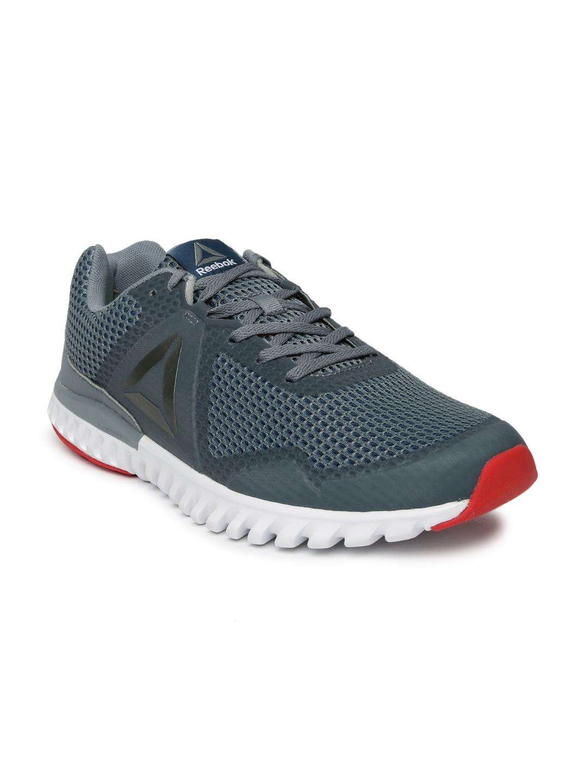 473c7f936d5aa4 Buy Reebok Men Grey TWISTFORM BLAZE 3.0 MTM Running Shoes - Sports ...