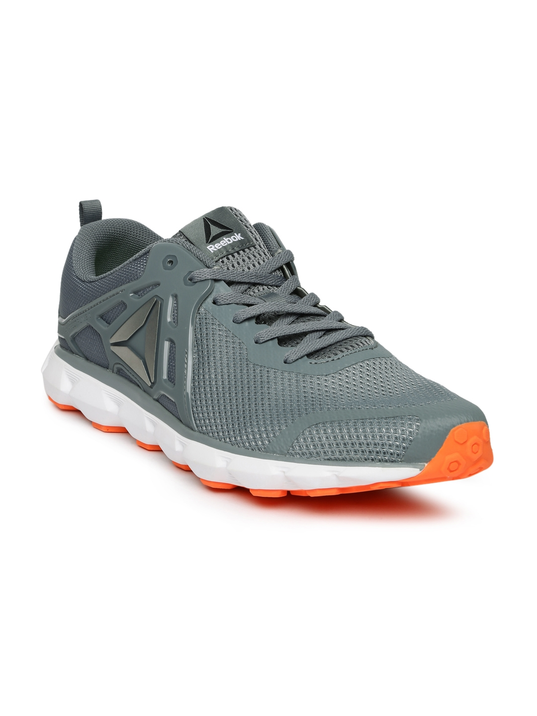 60cdea6611ce89 Buy Reebok Men Grey HEXAFFECT RUN 5.0 MTM Running Shoes - Sports ...