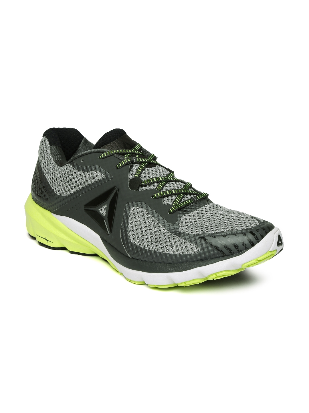 226401b141ff49 Buy Reebok Men Black   Grey OSR Harmony Road Running Shoes - Sports ...