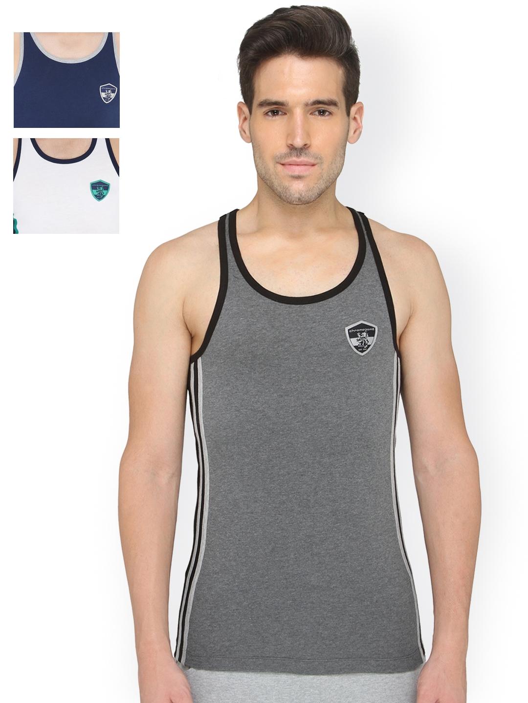 f2d007c3db5 Buy Chromozome Men Pack Of 3 Innerwear Vest ST01 3pc - Innerwear ...