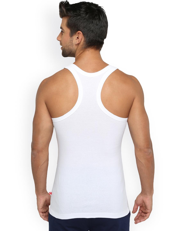 e52ec59fc19 Buy Chromozome Men Pack Of 3 Innerwear Vest WS21 3pc - Innerwear ...