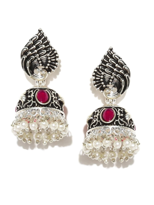 jhumkas buy jhumka earrings online in india myntra