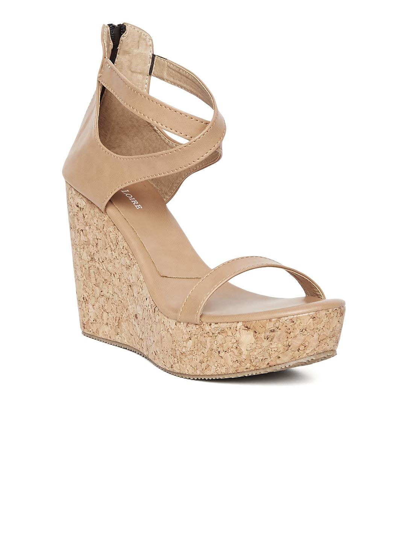 394618b5f Buy Marc Loire Women Brown Solid Wedges - Heels for Women 1896084 ...