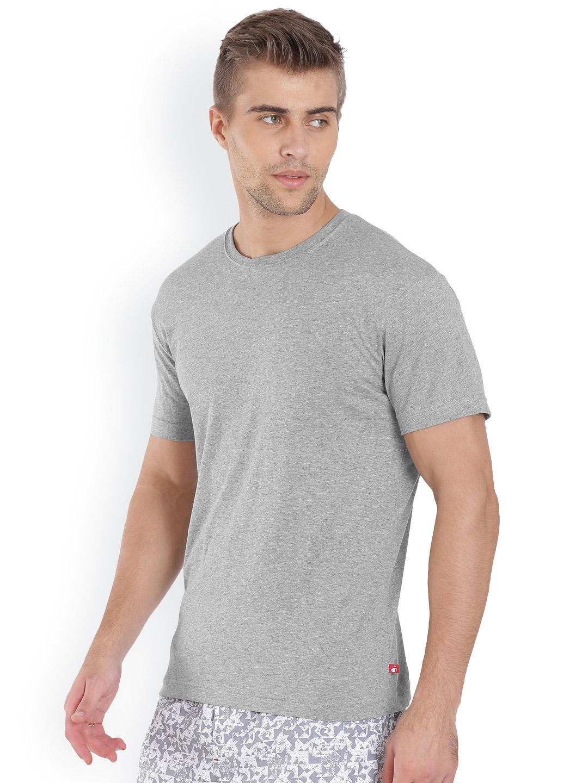 58073477710 Buy Jockey Men Grey Solid Inner T Shirt - Tshirts for Men 1897923 ...