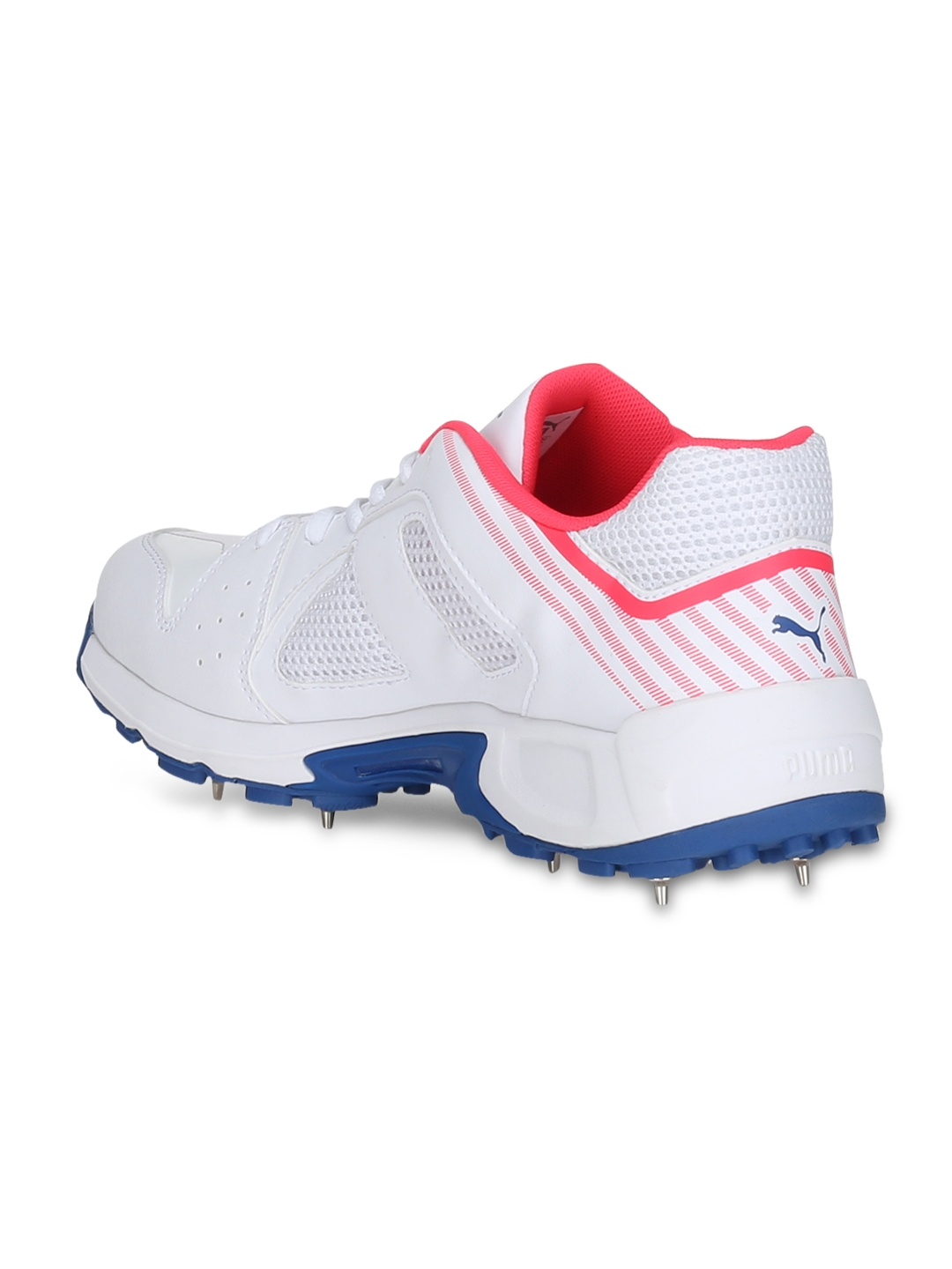 f0036f9e75d7be Buy Puma Men White Team Full Spike Cricket Shoes - Sports Shoes for ...