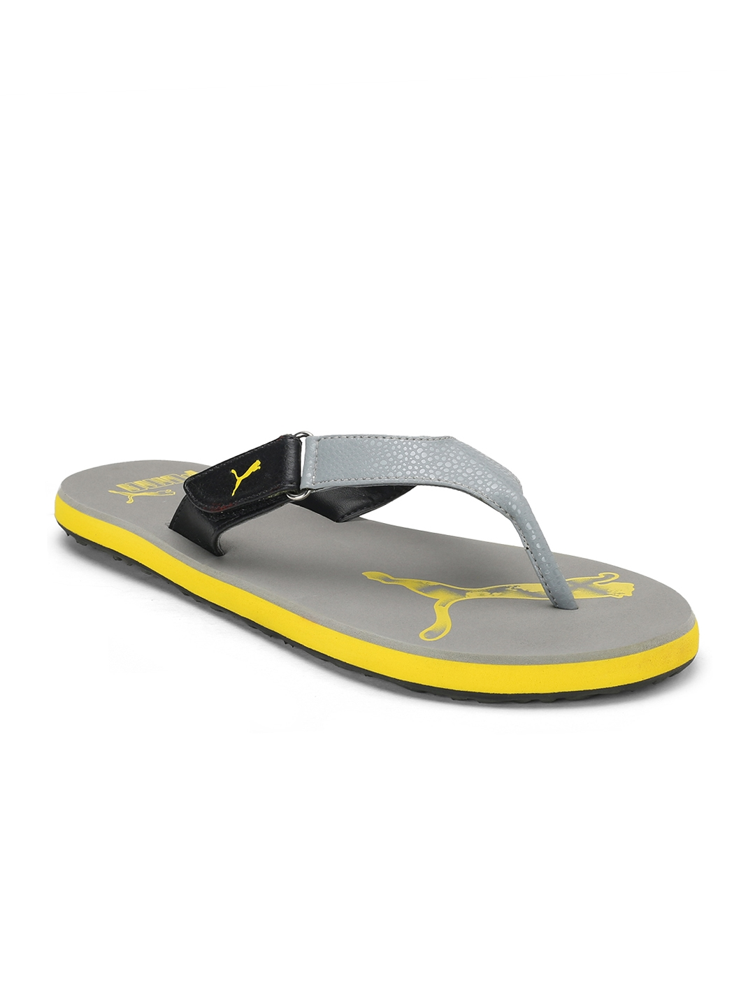 27a7b6ea90d1 Buy Puma Men Grey Breeze 2 NG IDP Flip Flops - Flip Flops for Men ...