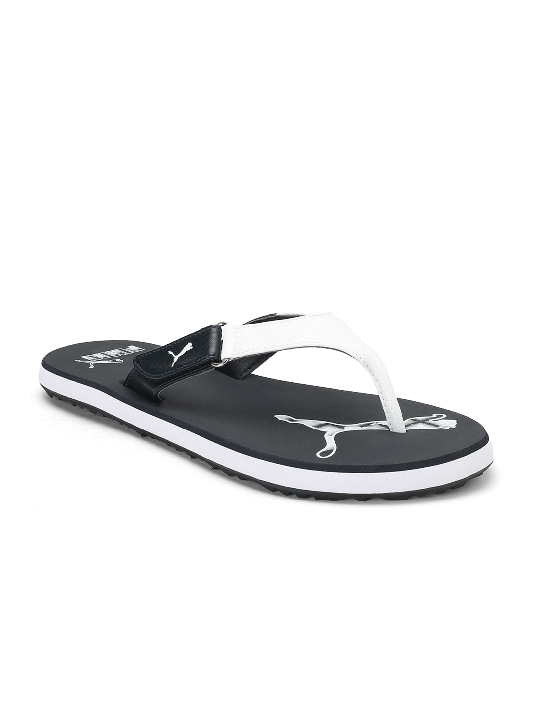 3b7639d39bac Buy Puma Men Black   White Breeze 2 NG IDP Flip Flops - Flip Flops ...