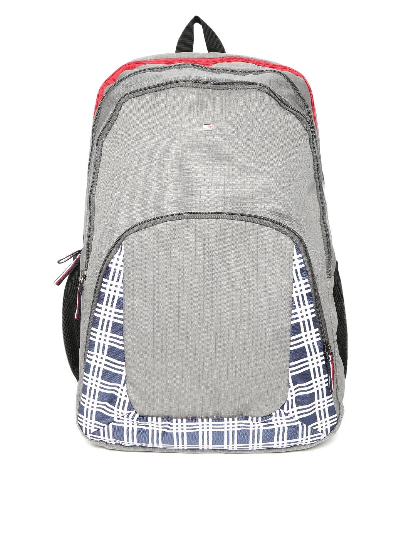 Tommy Hilfiger Unisex Grey Backpack