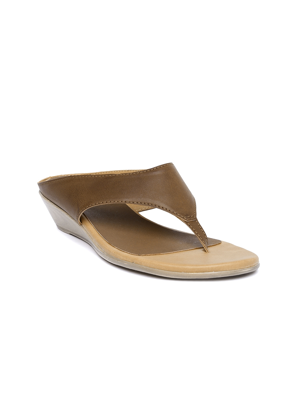 242f5977a562 Buy Lavie Women Brown Solid Wedges - Heels for Women 1914504