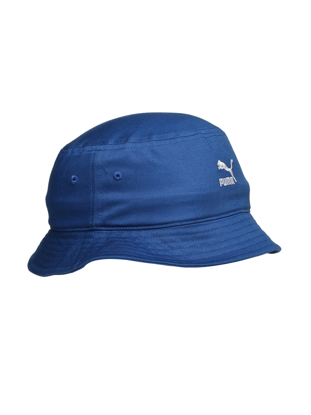 96fa377f9fd Buy Puma Unisex Blue Bucket Hat - Hat for Unisex 1919850