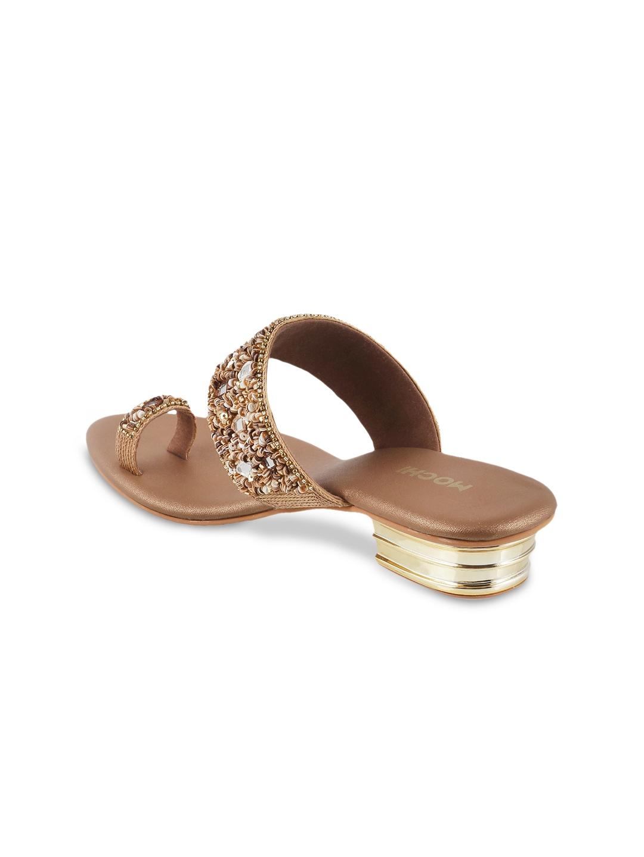 4810529a9 Buy Mochi Women Brown Embellished Heels - Heels for Women 1921481 ...
