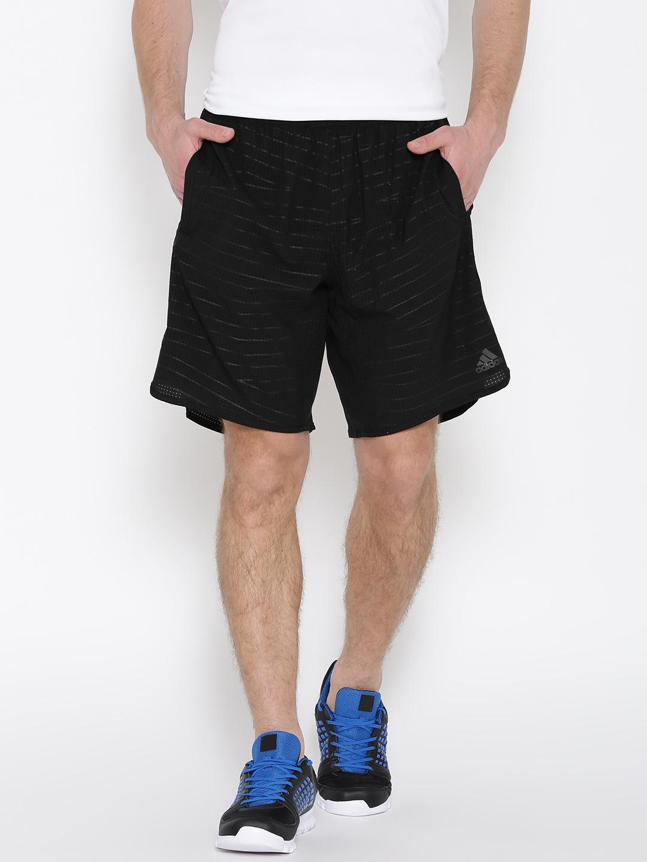 b9d5868c78b5 Buy ADIDAS Men Black Tokyo Self Design Sports Shorts - Shorts for ...