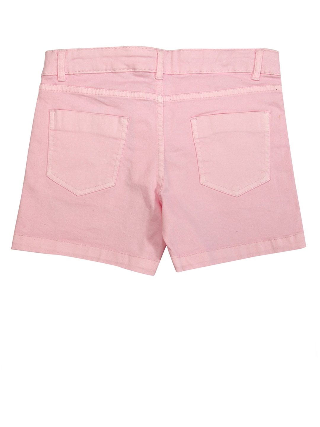 0530127a4c Buy Pepe Jeans Girls Pink Embroidered Denim Shorts - Shorts for ...