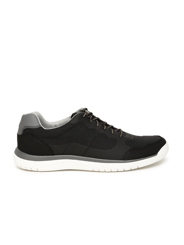 9edb9877728 Buy Clarks Men Black Votta Edge Sneakers - Casual Shoes for Men ...