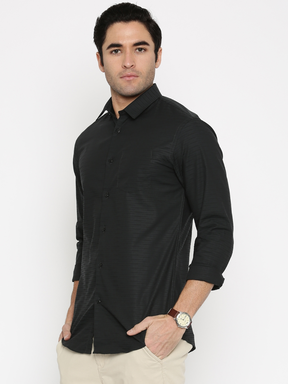 c2fe65815ad Buy Arrow New York Men Grey Snug Fit Self Design Formal Shirt ...