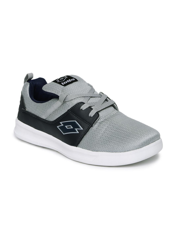 Lotto Men Grey String Running Shoes