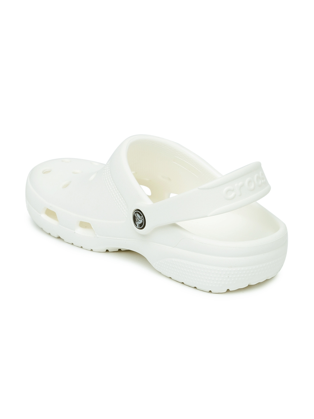 d23958e4d1a7 Buy Crocs Unisex White Clogs - Flip Flops for Unisex 1942272