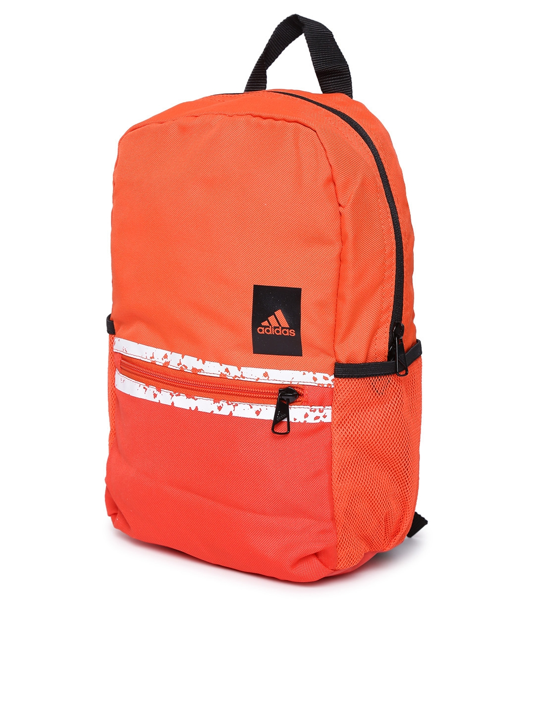 96e9f0afba Buy ADIDAS Unisex Orange Solid Classic Backpack - Backpacks for ...