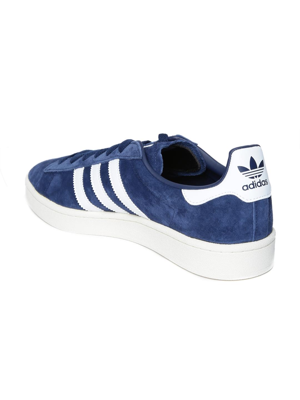 77ea1554208e Buy ADIDAS Originals Men Navy Blue Campus Nubuck Sneakers - Casual ...