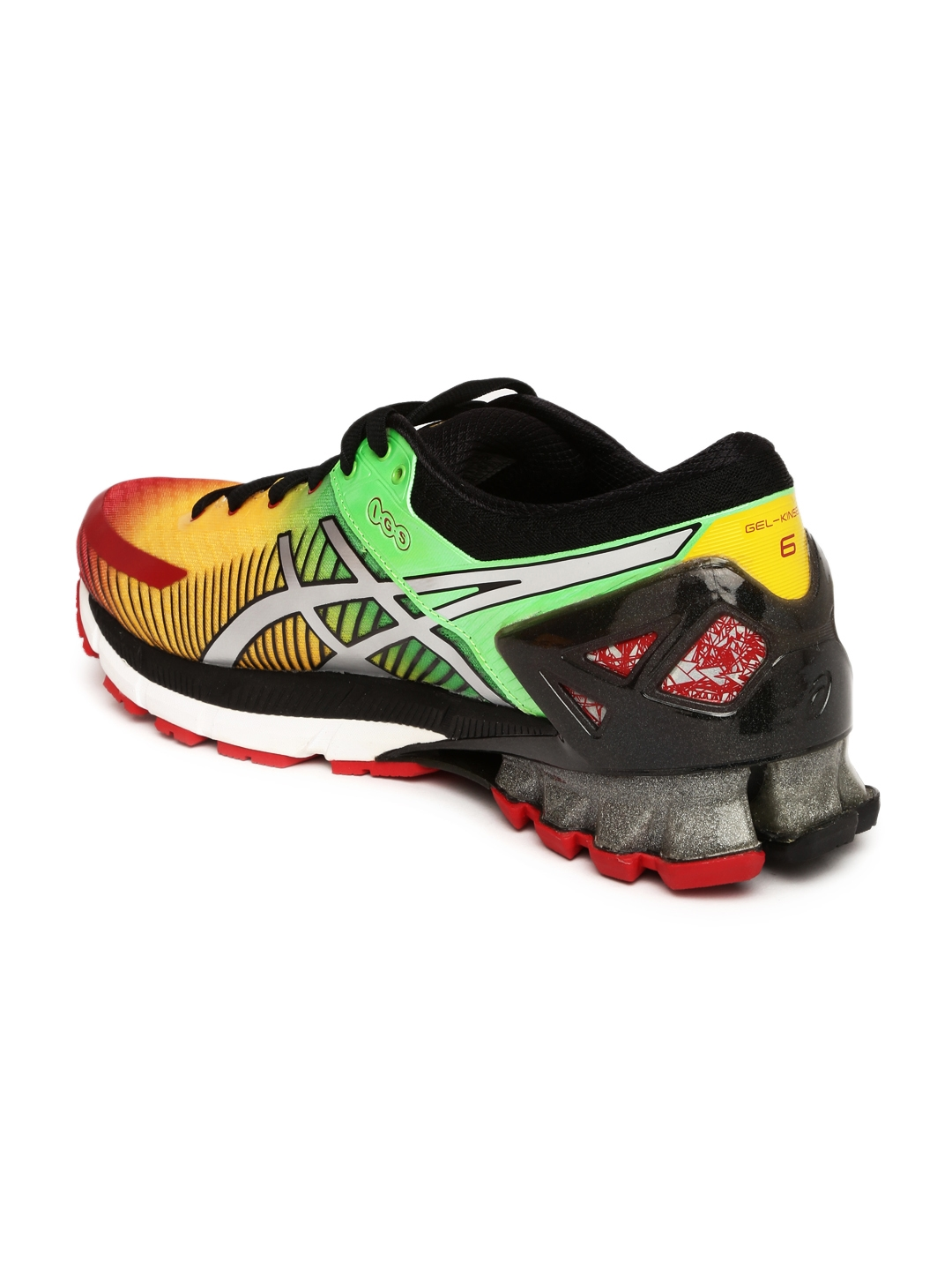 buy popular 96b54 cb39e ASICS Men Multicoloured GEL-KINSEI 6 Running Shoes