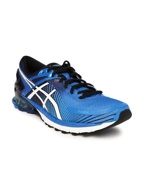save off bd4eb 3e029 ASICS Men Blue GEL-KINSEI 6 Running Shoes