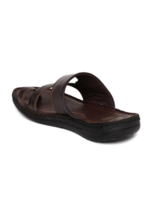 6b28bf03aeff Buy Dr. Scholl Men Brown Leather Sandals - Sandals for Men 1951389 ...