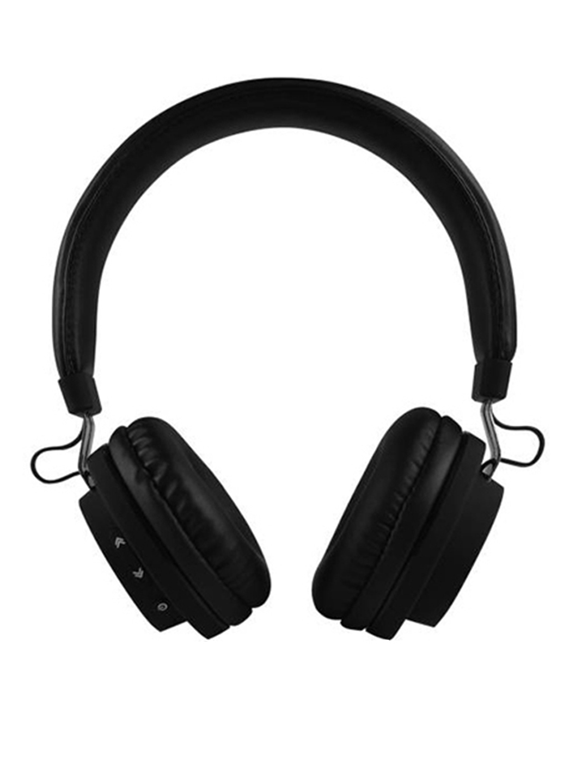 7e330add839 Buy Flipkart SmartBuy Black Wireless Bluetooth Headphones With Mic ...