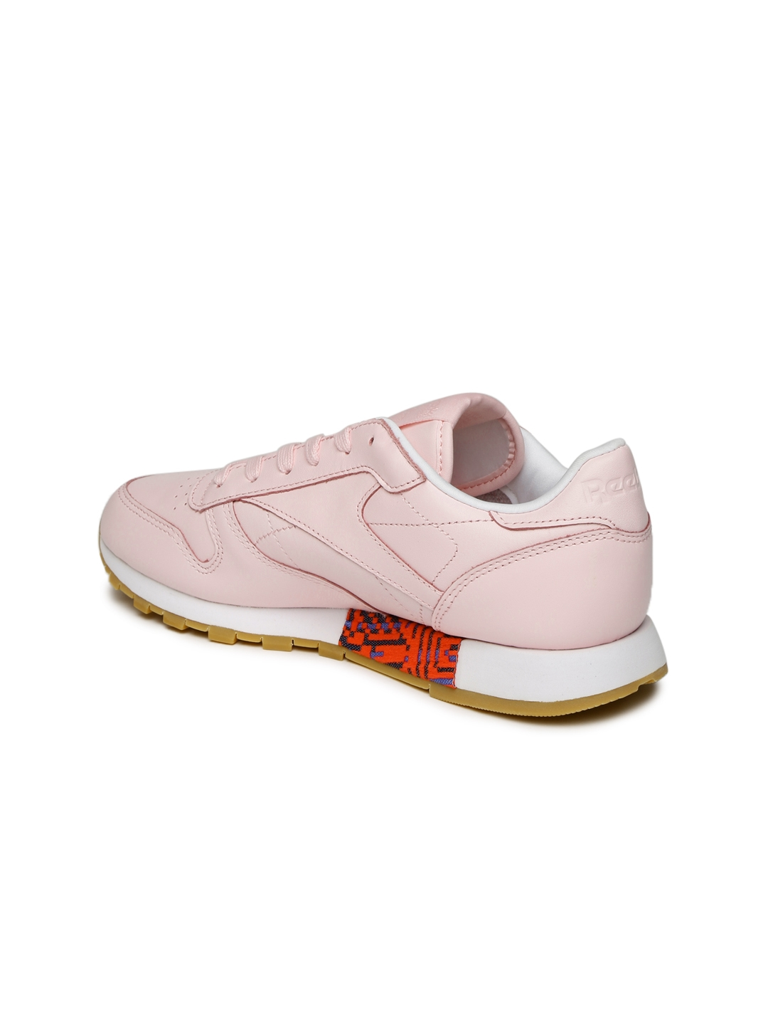 673771d473e9 Buy Reebok Classic Women Pink OLD MEETS NEW Leather Sneakers ...
